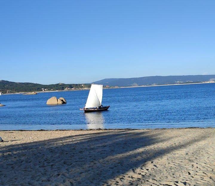 Playa de San Vicente do Mar en O Grove